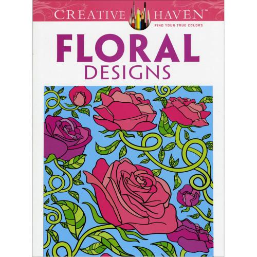 Creative Haven Coloring Book: Floral Designs