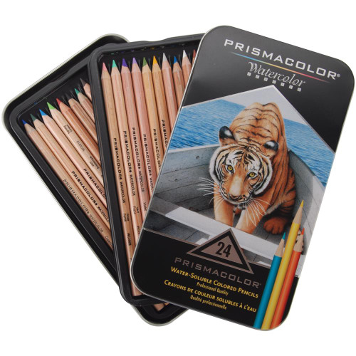 Prismacolor Premier Watercolor Pencils (24/pkg)