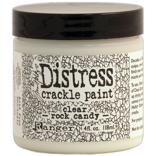 Tim Holtz Distress Crackle Paint: Clear Rock Candy