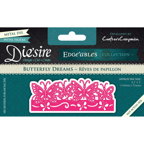 Crafter's Companion Die'Sire Edge'ables Dies:  Butterfly Dreams