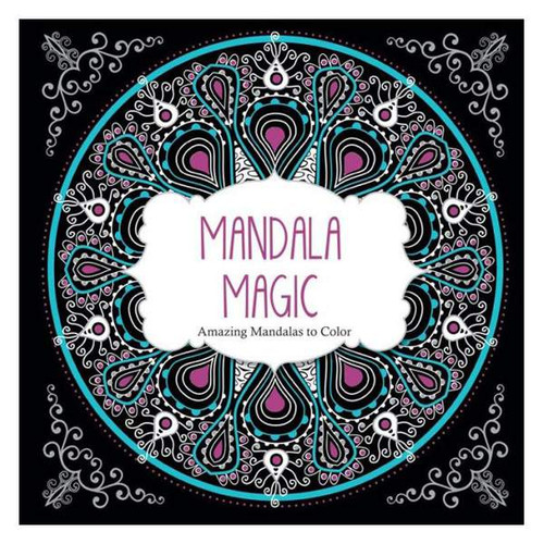 Mandala Magic: Amazing Mandalas To Color