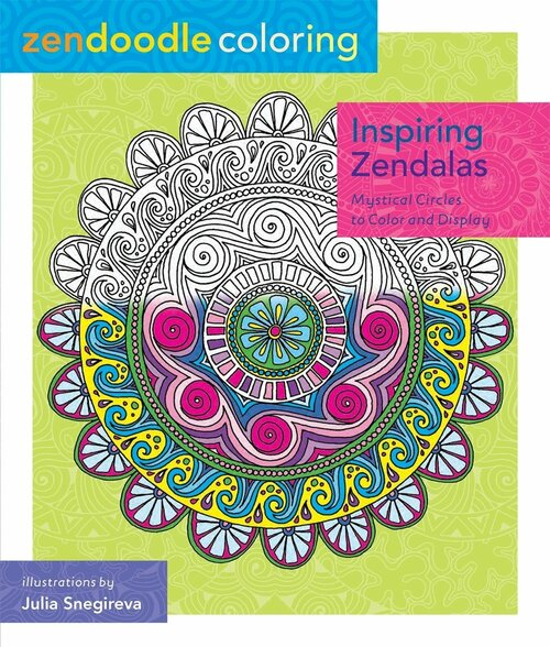 *SG SUPER BUY* Zendoodle Coloring: Inspiring Zendalas - Mystical Circles To Color And Display