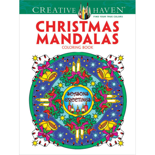 Creative Haven Coloring Book: Christmas Mandalas