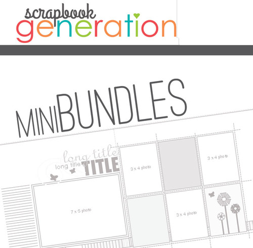 MINI-BUNDLE: August 2015 - Summer - Two Page