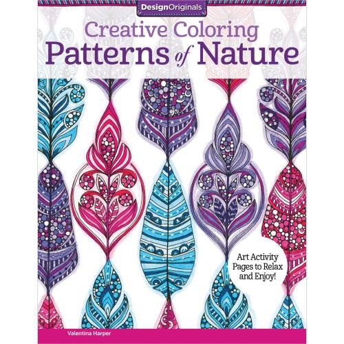 Design Originals Creative Coloring Book: Patterns of Nature