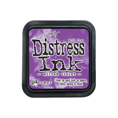 Distress Ink Pad: Wilted Violet