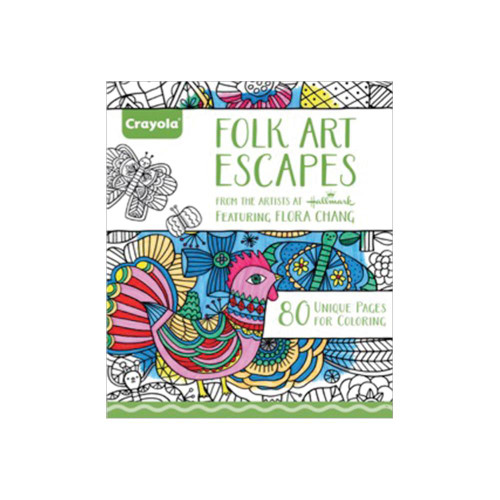 Crayola Coloring Books: Folk Art Escapes
