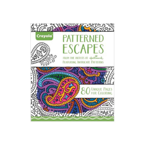 Crayola Coloring Books: Patterned Escapes