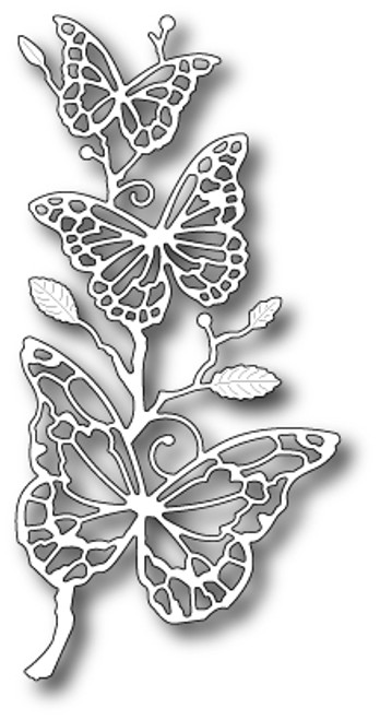 Memory Box Dies: Colette Butterfly Branch