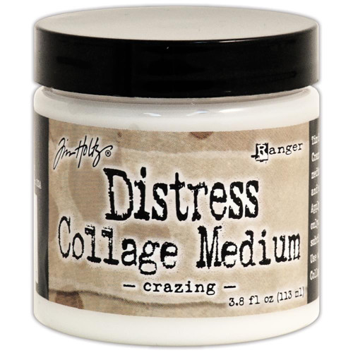 Tim Holtz Distress Collage Medium: Crazing