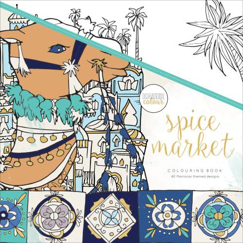 KaiserColour Perfect Bound Colouring Book: Spice Market