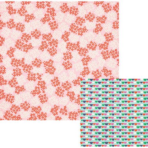WRMK Flower Girl 12x12 Paper: Bouquet
