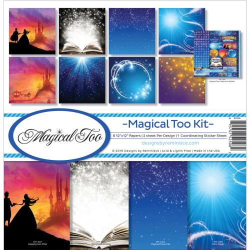 Reminisce Magical Too 12x12 Collection Kit