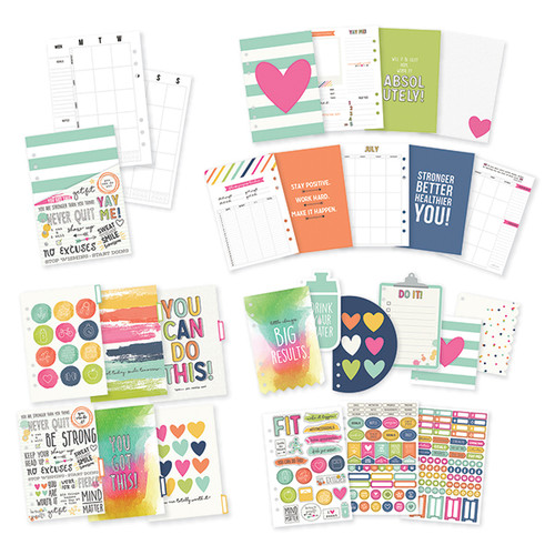 CLEARANCE | Simple Stories Carpe Diem | Fitness Planner Inserts