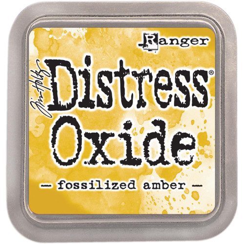 Distress Oxide Ink Pad: Fossilized Amber