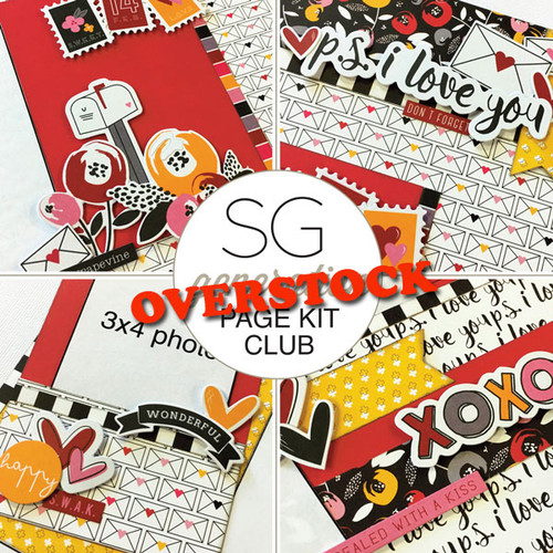 SG: Generation Page Overstock Club Kit | February 2017