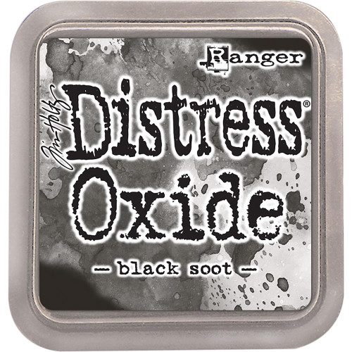 Distress Oxide Ink Pad: Black Soot