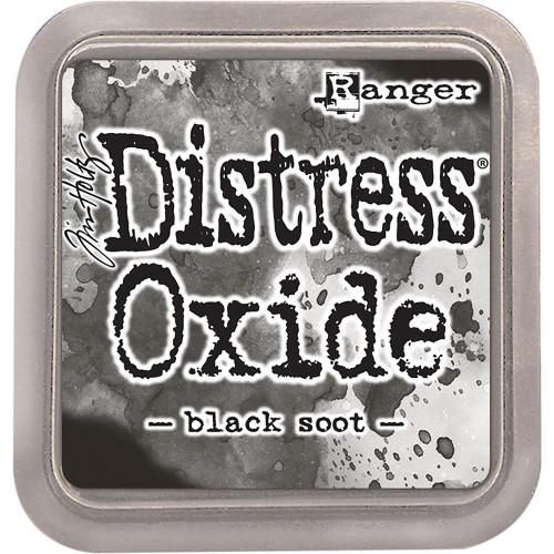 Distress Oxide Ink Pad: Black Soot