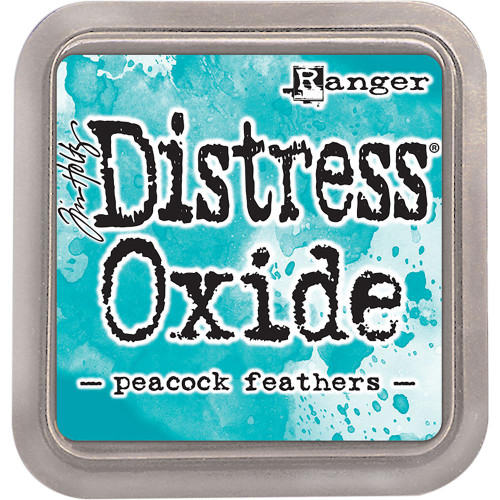 Distress Oxide Ink Pad: Peacock Feathers