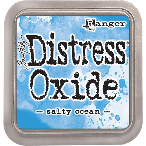 Distress Oxide Ink Pad: Salty Ocean