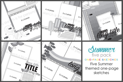 Simply Sketches Ebook: September 2017 | Summer Days