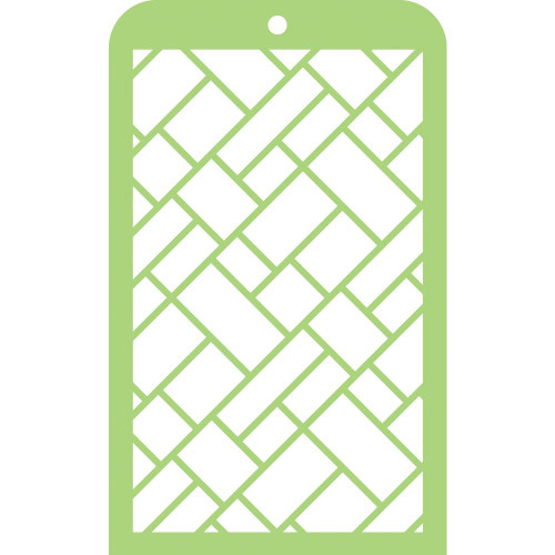 "Kaisercraft Mini Designer Templates 3.5""X5.75"" - Metal Plates"