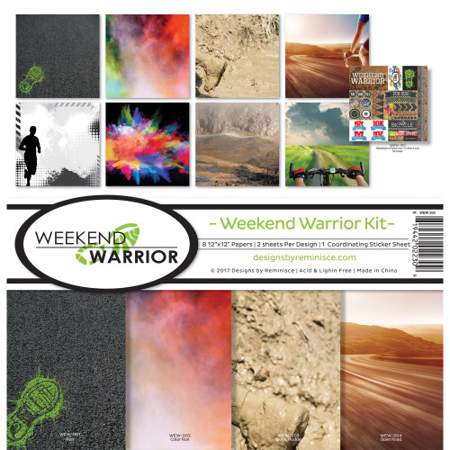 Reminisce 12x12 Collection Pack: Weekend Warrior