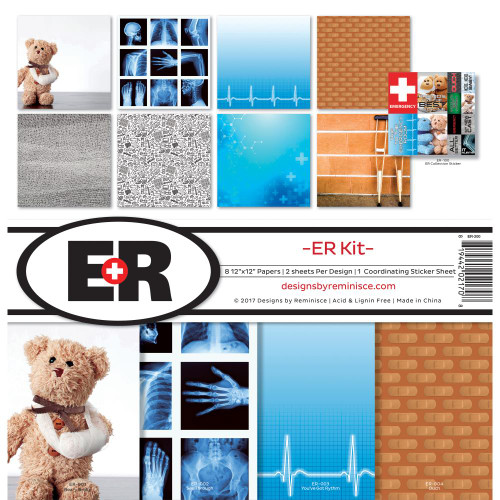 Reminisce 12x12 Collection Pack: Emergency Room