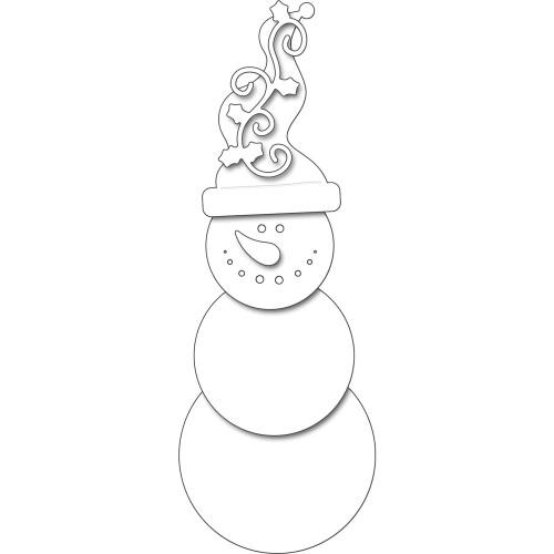 Penny Black Creative Dies: Snowman Smile