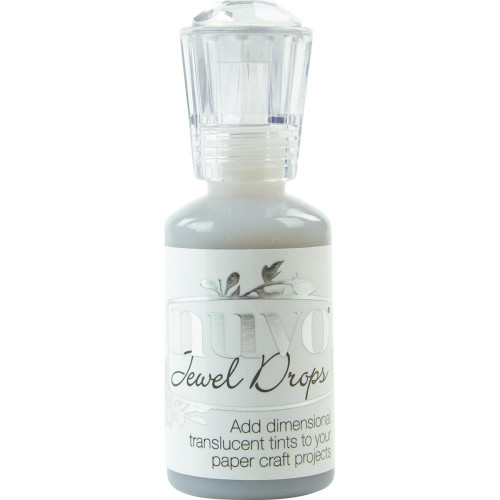 Tonic Studios Nuvo Jewel Drops: Grey Mist