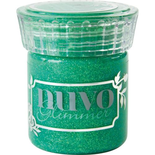 Nuvo Glimmer Paste: Peridot Green