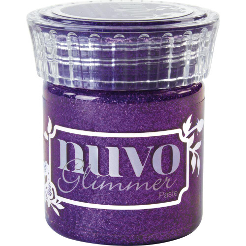 Nuvo Glimmer Paste: Amethyst Purple