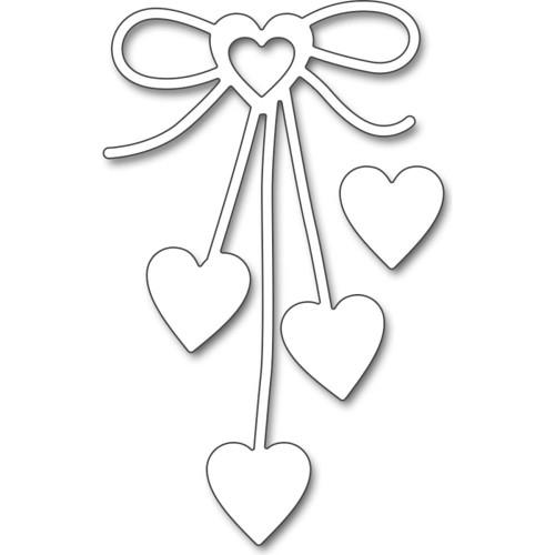Penny Black Creative Dies: Heart Bow