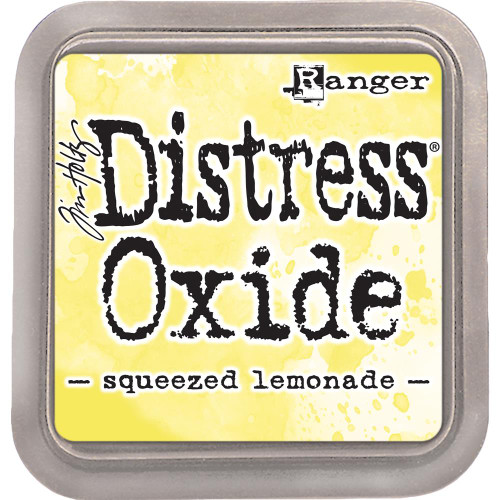 Distress Oxide Ink Pad: Squeezed Lemonade