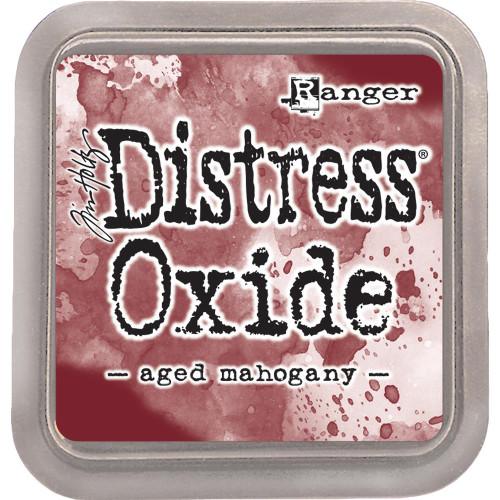 Distress Oxide Ink Pad: Aged Mahogany