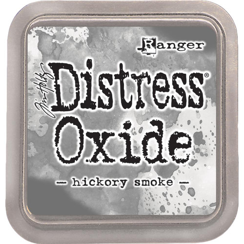Distress Oxide Ink Pad: Hickory Smoke