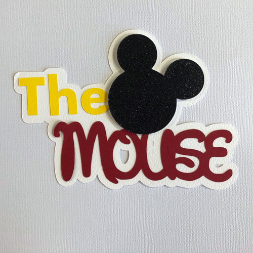 Scrapbooks From The Heart Diecut Title: The Mouse