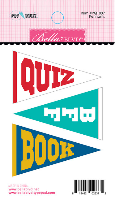 CLEARANCE | Bella Blvd Pop Quiz Felt Pennants