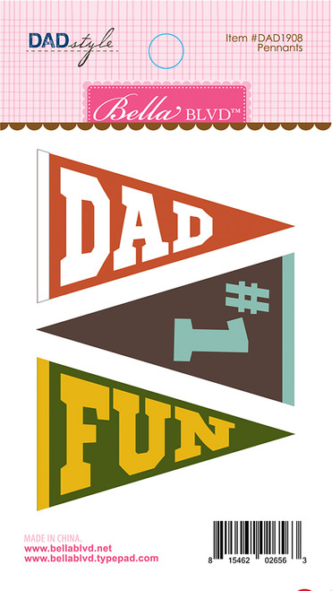 Bella Blvd Dad Style Felt Pennants