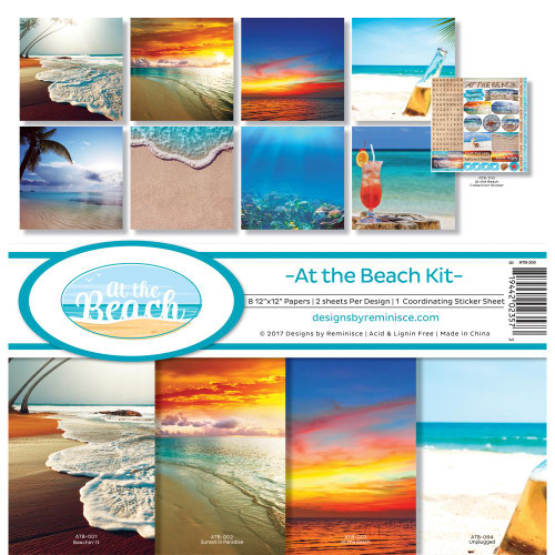 Reminisce 12x12 Collection Pack: At The Beach