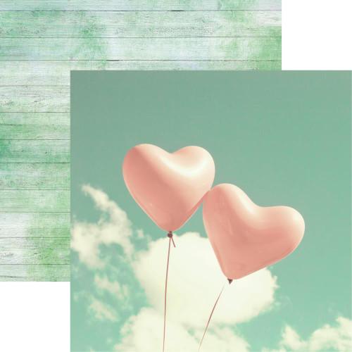 Reminisce Modern Wedding 12x12 Paper: Love