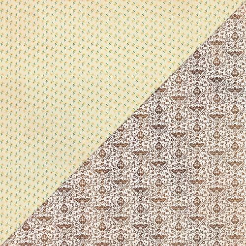 Authentique Meadow 12x12 Paper: Five