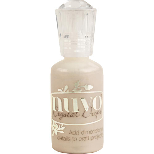 Nuvo Crystal Drops: Caramel Cream (Metallic)