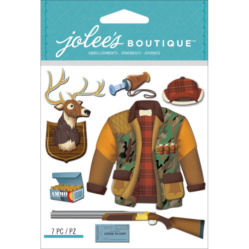 Jolee's Boutique Dimensional Stickers: Hunting