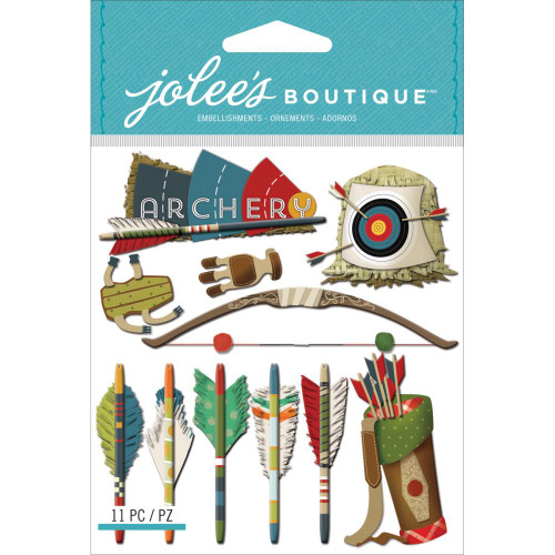 Jolee's Boutique Dimensional Stickers: Archery