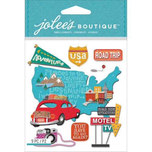 Jolee's Boutique Dimensional Stickers: Road Trip
