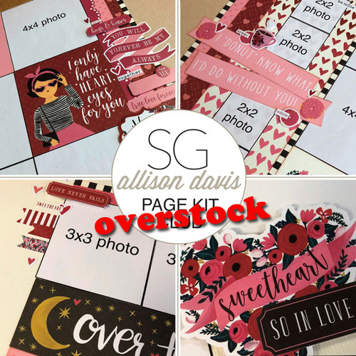 SG: Allison Davis Overstock Club Kit | January 2018