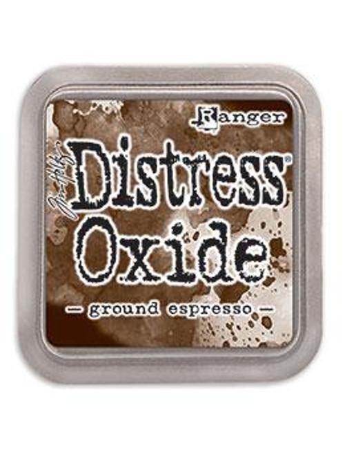Distress Oxide Ink Pad: Ground Espresso
