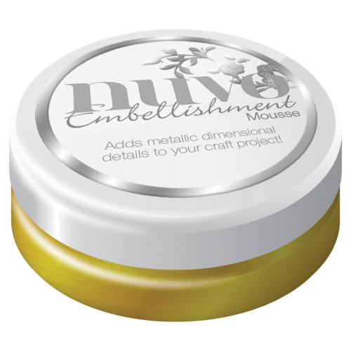 Nuvo Embellishment Mousse: Indian Gold
