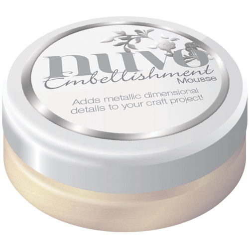 Nuvo Embellishment Mousse: Mother Of Pearl